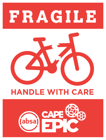 Epic Fragile Sticker