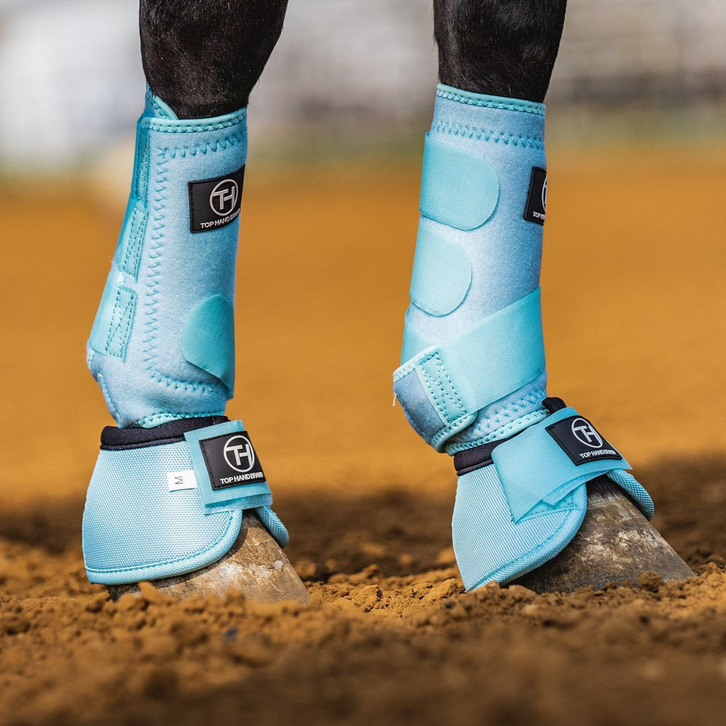 Baby Blue Bell Boots