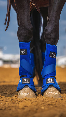 Royal Blue Sport Boots (Sold in Pairs)