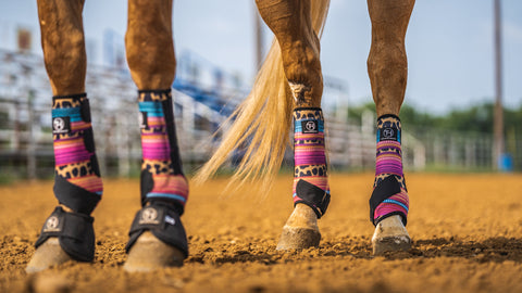 Cheetah/Serape Sport Boots (Sold in Pairs)