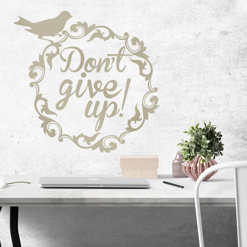 zidne naljepnice - tekstualne - affirmationwall - don′t give up