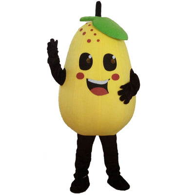 Custom Fruits and Vegetables Costumes Anime Pear Costume - Upside Down - professional mascot costume