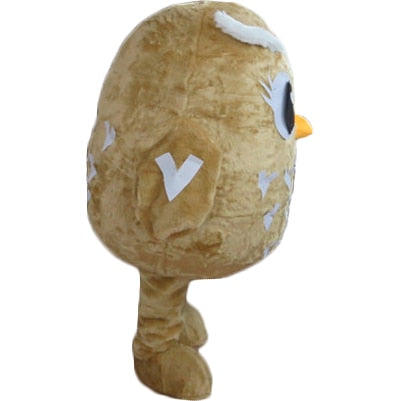 Cute and Cuddly Cartoon Owl Mascot Owl Costume
