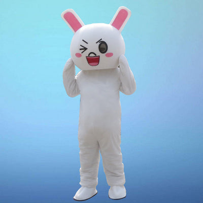 White Rabbit Anime Japanese Bunny Character