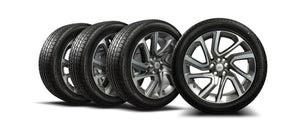 "Genuine Range Rover Sport Style 5085 21"" Diamond Cut Alloy Wheels & Tyres Emerald Bespoke"