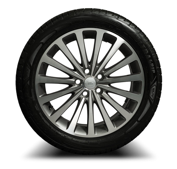 "Genuine Range Rover L322 Autobiography 20"" Diamond Cut Alloy Wheels & Tyres"