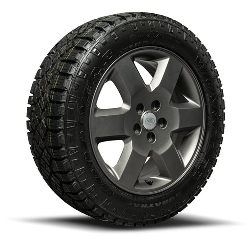 "Genuine Land Rover Discovery 3 & 4 19"" All-Terrain Alloy Wheels & Tyres"