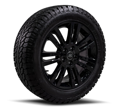"Genuine Land Rover Discovery 4 19"" All-Terrain Alloy Wheels & Tyres"