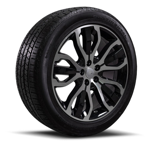 "Genuine Range Rover Sport Style 507 21"" Diamond Cut Alloy Wheels & Tyres"