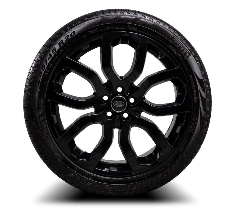 "Genuine Land Rover Discovery Sport Style 5004 504 20"" Alloy Wheels & Tyres"