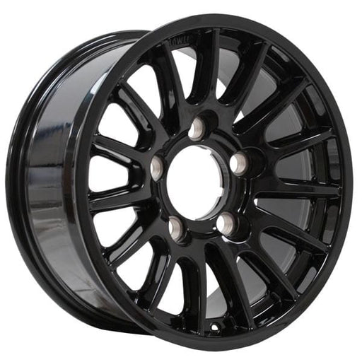 "5 x Bowler Motorsport Light Weight 16"" Alloy Wheel - Gloss Black"