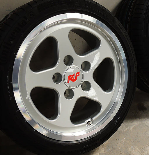 "RUF 17"" Classic 'CTR' Forged Alloy Wheel Set for 911/930 (pre-964)"