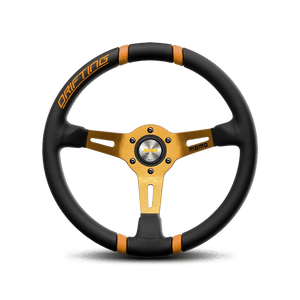 Momo Drifting Orange Steering Wheel