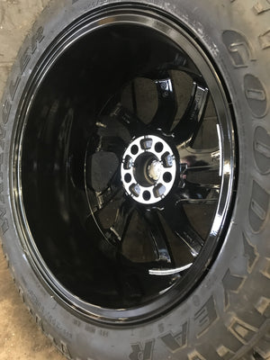 "Genuine Land Rover Discovery 5 5011 20"" Alloy Wheels & Good Year Wrangler Duratrac Tyres"