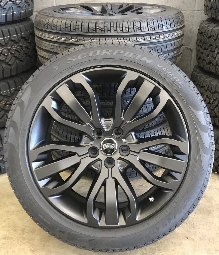 "Genuine Range Rover Sport Style 507 21"" Alloy Wheels & Tyres"