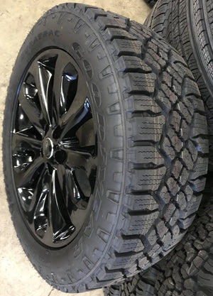 "Genuine Range Rover Style 502 20"" Alloy Wheels & Good Year Wrangler Duratrac Tyres"