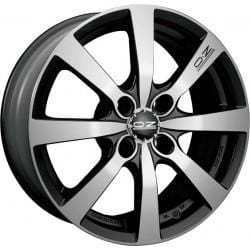 OZ Racing Michelangelo 8 7x17 4x100 Alloy Wheel x1