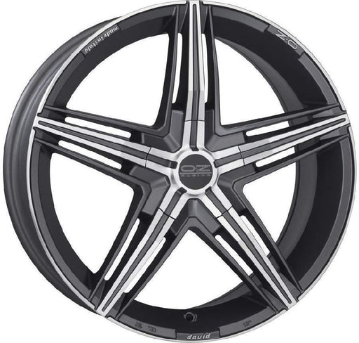 OZ Racing DAVID 7.5x17 5x105 Alloy Wheel x1