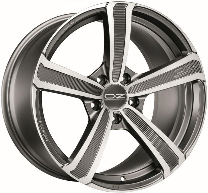 OZ Racing Montecarlo HLT 9.5X22 5x108 Alloy Wheel x1