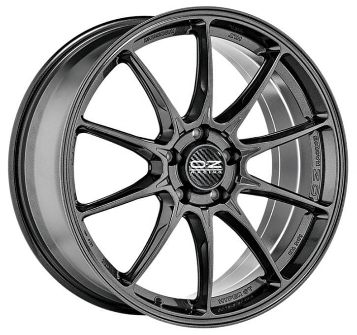 OZ Racing Hyper GT HLT 7.5x17 5x100 Alloy Wheel x1