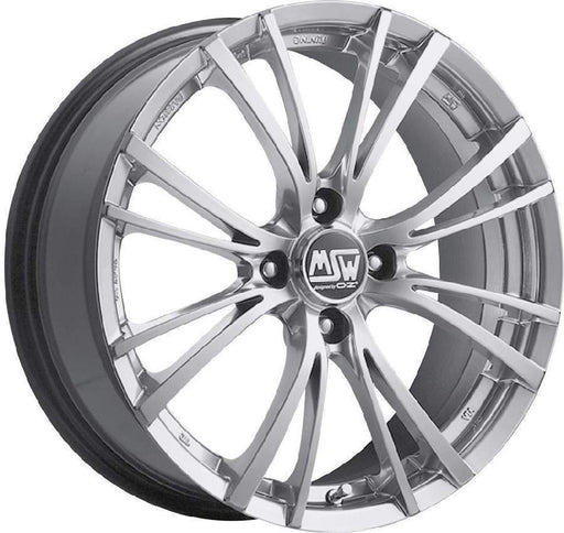 OZ Racing MSW 20-4 7x17 4x108 Alloy Wheel x1