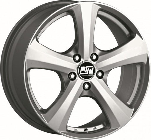 OZ Racing MSW 19 W 6.5x15 5x100 Alloy Wheel x1