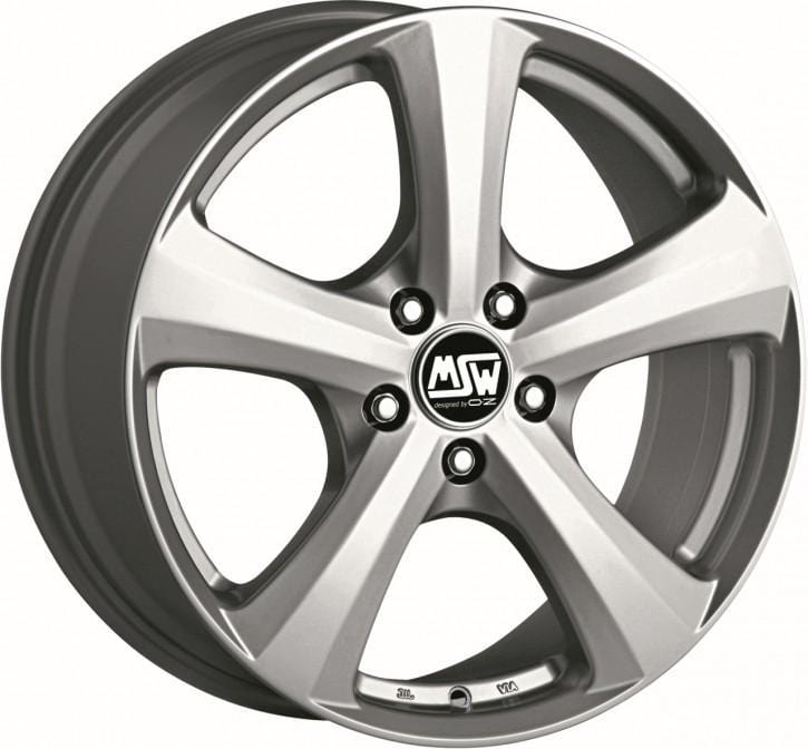 OZ Racing MSW 19 W 6.5x15 5x112 Alloy Wheel x1