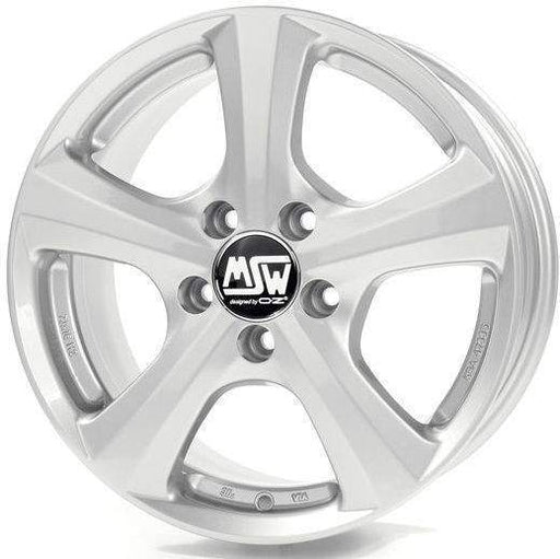 OZ Racing MSW 19 W 6.5x15 5x108 Alloy Wheel x1
