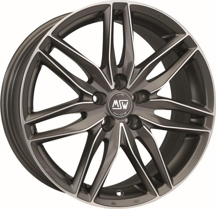 OZ Racing MSW 24 7x17 4x100 Alloy Wheel x1