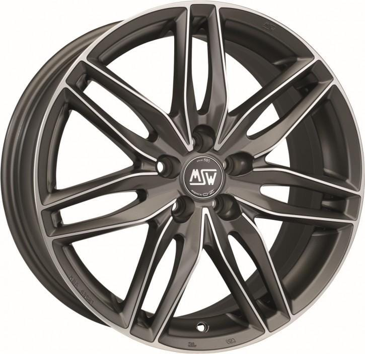 OZ Racing MSW 24 8x18 5x100 Alloy Wheel x1