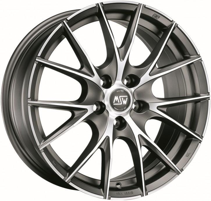 OZ Racing MSW 25 8x17 5x114.3 Alloy Wheel x1