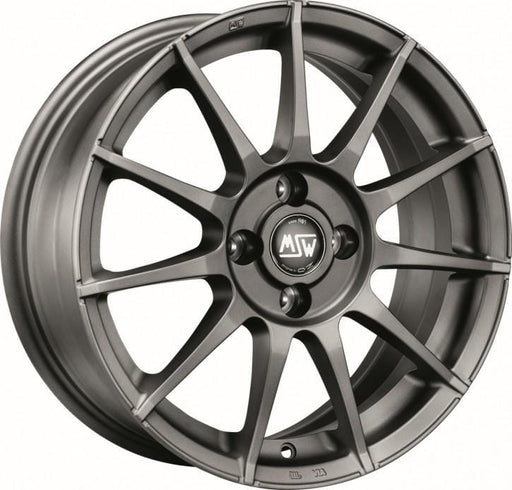 OZ Racing MSW 85 6x15 4x100 Alloy Wheel x1