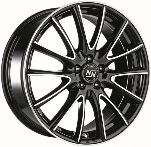OZ Racing MSW 86 7.5x17 5x120 Alloy Wheel x1