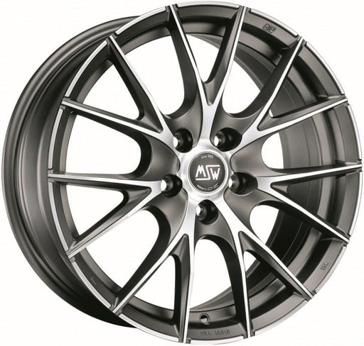 OZ Racing MSW 25 7.5x17 5x100 Alloy Wheel x1