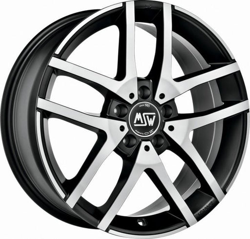 OZ Racing MSW 28 7x17 5x120 Alloy Wheel x1