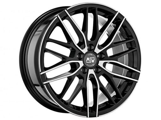 OZ Racing MSW 72 7x17 5x110 Alloy Wheel x1