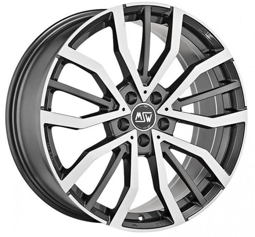 OZ Racing MSW 49 8x18 5x112 Alloy Wheel x1