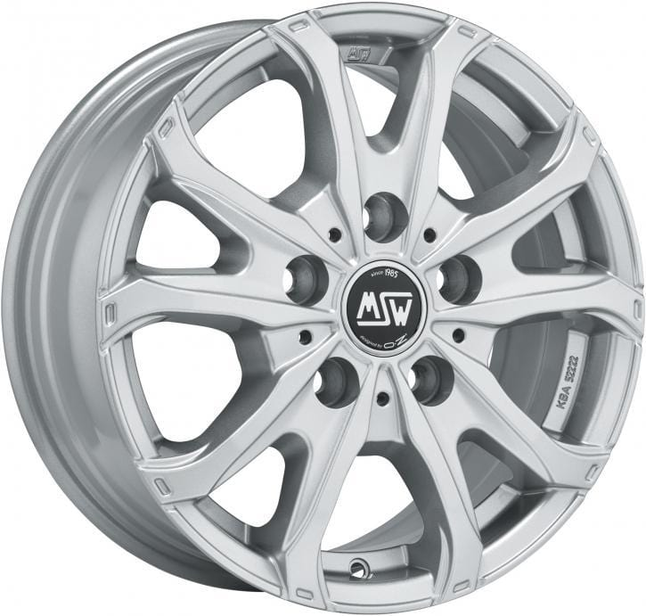 OZ Racing MSW 48 VAN 6.5x16 5x120 Alloy Wheel x1