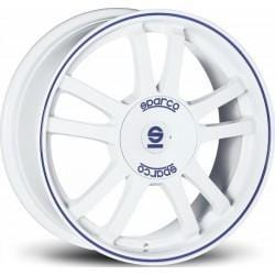 OZ Racing Sparco RALLY 7.5x17 5x100 Alloy Wheel x1