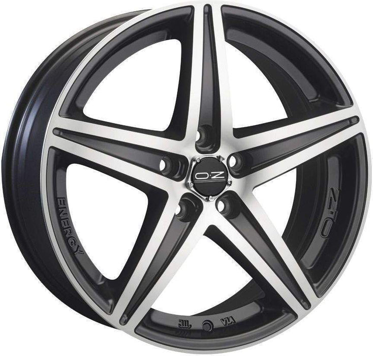 OZ Racing ENERGY 7.5x16 5x114.3 Alloy Wheel x1