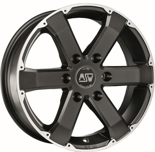 OZ Racing MSW 46 7.5x17 6x139.7 Alloy Wheel x1