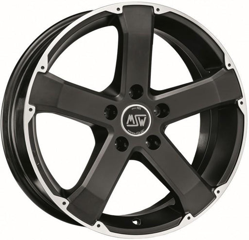 OZ Racing MSW 45 8x17 5x120 Alloy Wheel x1