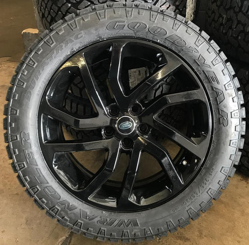 "Genuine Land Rover Discovery 4 Style 511 20"" Alloy Wheels & Good Year Wrangler Duratrac Tyres"