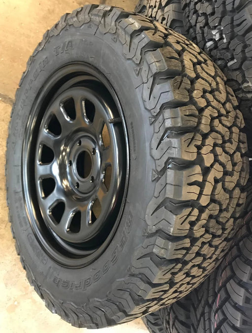 "TuffAnt Land Rover Discovery 3 & 4 18"" Steel Wheels & BF Goodrich All-Terrain KO2 Tyres"