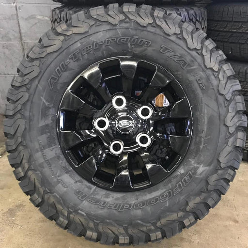 "Genuine Land Rover Defender Sawtooth 16"" Alloy Wheels & Tyres"