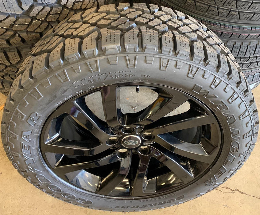 "Genuine Land Rover Style 5011 20"" Winter Alloy Wheels & Tyres"