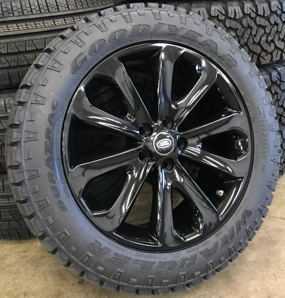 "Genuine Land Rover Style 502 20"" Winter Alloy Wheels & Tyres"