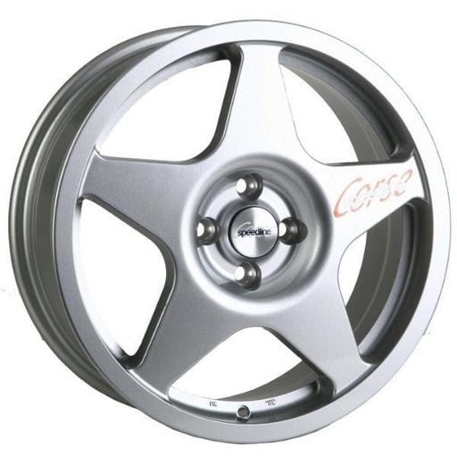 "Speedline Corse Type 2110 Challenge 7x17"" Alloy Wheels x4"
