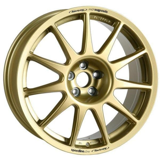 "Speedline Corse Type 2120 Turini 17"" Alloy Wheels x4"
