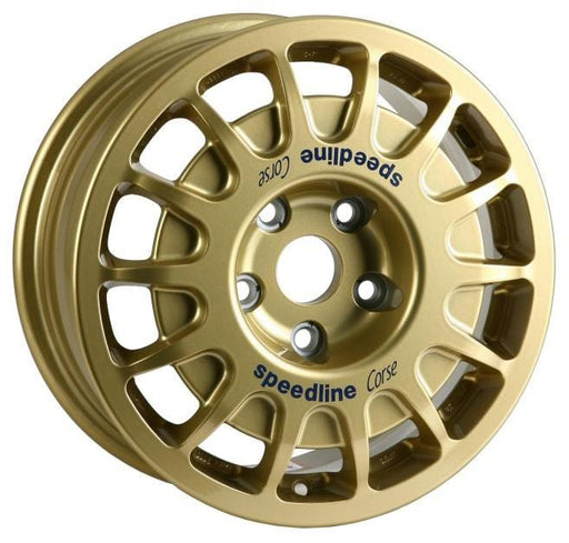 "Speedline Corse Type 2128 Rally Gravel 15"" Alloy Wheels x4"
